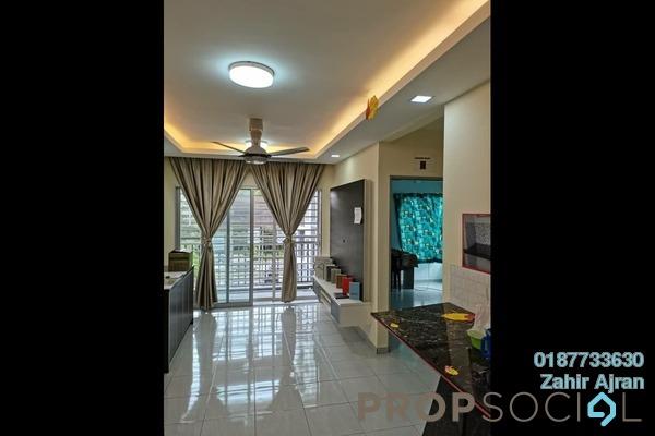 For Sale Apartment at Residensi Laguna Biru 2, Rawang Freehold Semi Furnished 3R/2B 275k