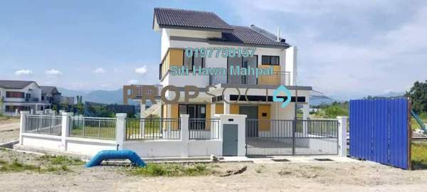 For Sale Terrace at Bentong Town, Bentong Freehold Semi Furnished 4R/3B 287k