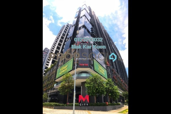 For Sale Serviced Residence at M City, Ampang Hilir Freehold Semi Furnished 2R/2B 584k