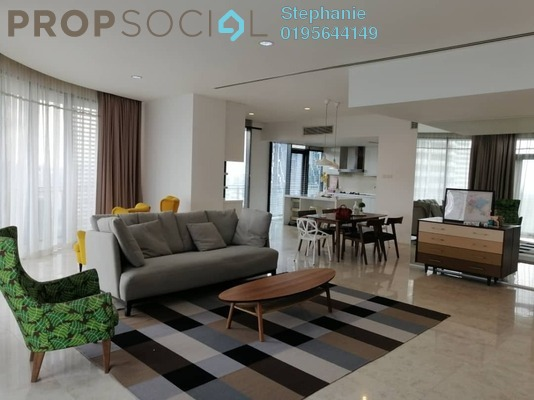 For Rent Condominium at K Residence, KLCC Freehold Fully Furnished 3R/4B 13k