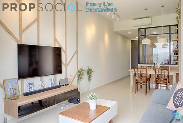 For Sale Serviced Residence at Platinum Lake PV21, Setapak Freehold Semi Furnished 2R/2B 390k