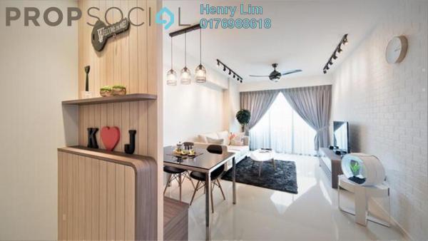 For Sale Serviced Residence at Platinum Lake PV21, Setapak Freehold Semi Furnished 3R/2B 430k
