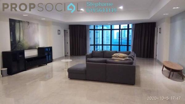 For Rent Condominium at 3 Kia Peng, KLCC Freehold Fully Furnished 3R/4B 8k