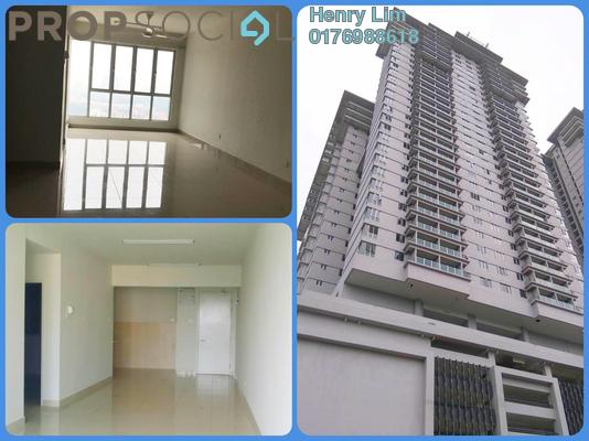 For Rent Condominium at Maxim Residences, Cheras Freehold Semi Furnished 2R/2B 1.2k