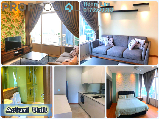 For Rent Serviced Residence at Sky Suites @ KLCC, KLCC Freehold Fully Furnished 3R/2B 3.7k