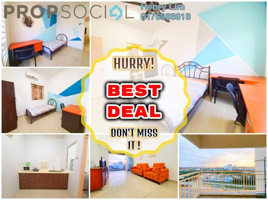 For Rent Serviced Residence at Endah Promenade, Sri Petaling Freehold Fully Furnished 3R/2B 1.7k