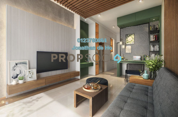 For Sale SoHo/Studio at The Mate, Petaling Jaya Freehold Fully Furnished 0R/1B 320k