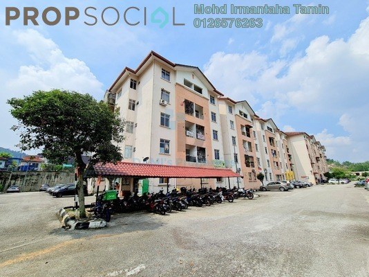 Apartment For Sale in Resak Apartment, Shah Alam Leasehold unfurnished 3R/2B 225k