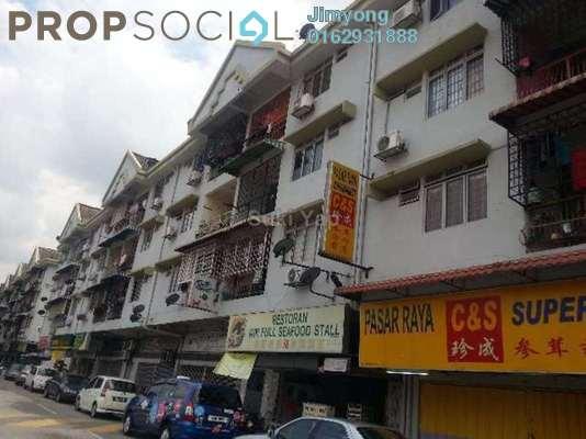 For Rent Shop at Taman Pusat Kepong, Kepong Freehold Unfurnished 0R/1B 2.8k