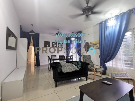 Apartment For Rent in PPA1M Pudina, Putrajaya Freehold Fully Furnished 3R/2B 1.4k