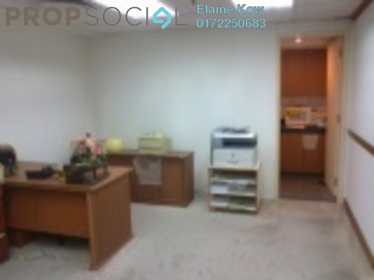 For Rent Office at Plaza 138, KLCC Freehold Fully Furnished 0R/0B 4.5k