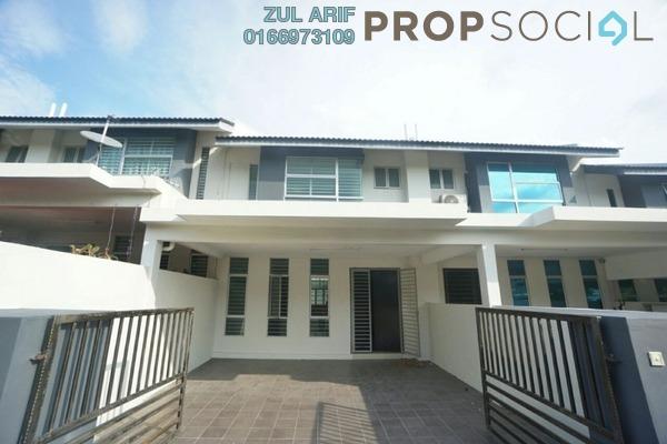 For Sale Terrace at Bangi Avenue, Kajang Freehold Semi Furnished 4R/4B 530k