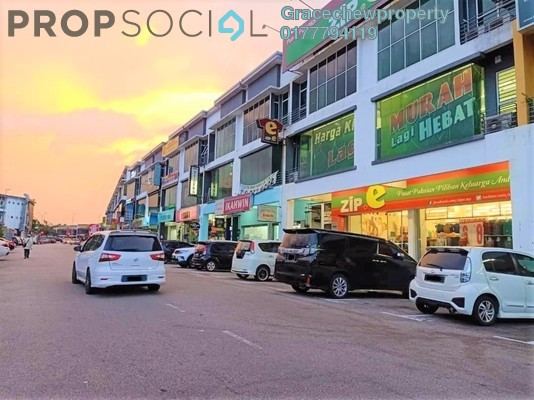 Shop For Sale in Taman Dataran Larkin, Larkin Freehold Semi Furnished 0R/0B 1.55m