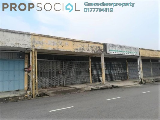 Shop For Sale in Taman Sri Skudai, Skudai Freehold Semi Furnished 0R/0B 340k