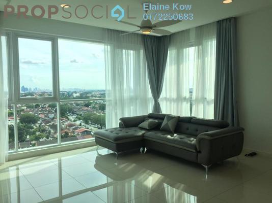 For Rent Condominium at Uptown Residences, Damansara Utama Freehold Semi Furnished 3R/3B 5.3k