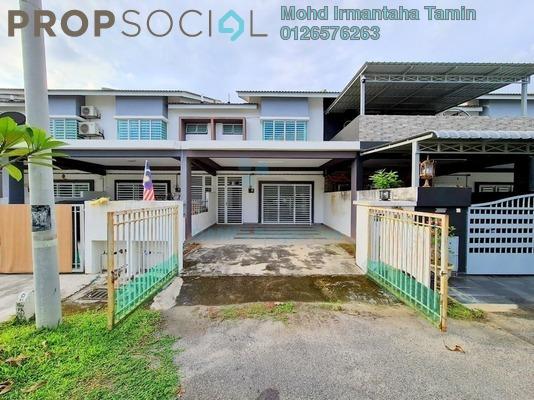 Terrace For Sale in Taman Emas, Dengkil Freehold semi_furnished 4R/3B 540k