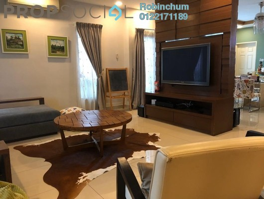 For Sale Semi-Detached at The Peak, Cheras South Freehold Semi Furnished 5R/5B 2.15m