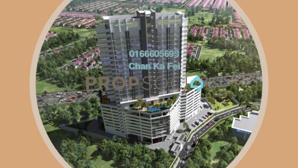 For Sale Condominium at Armani Soho Subang, UEP Subang Jaya Freehold Fully Furnished 1R/1B 305k