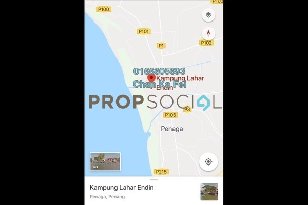 For Sale Land at Kampung Lahar Endin, Penang Freehold Unfurnished 0R/0B 61m