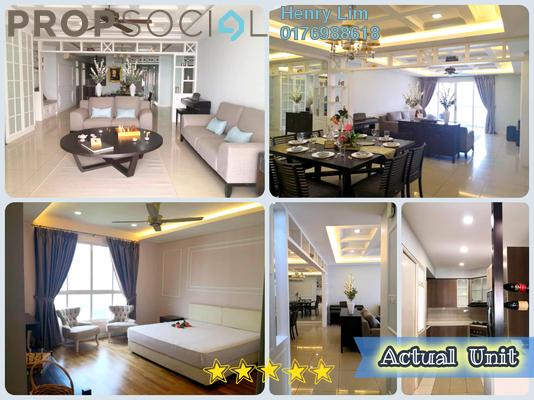 For Rent Condominium at Kiaramas Cendana, Mont Kiara Freehold Fully Furnished 3R/2B 4k