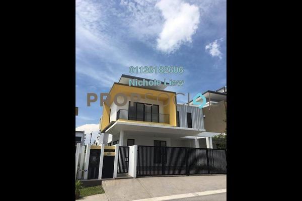 For Sale Semi-Detached at Twin Palms, Bandar Sungai Long Freehold Unfurnished 5R/5B 1.58m
