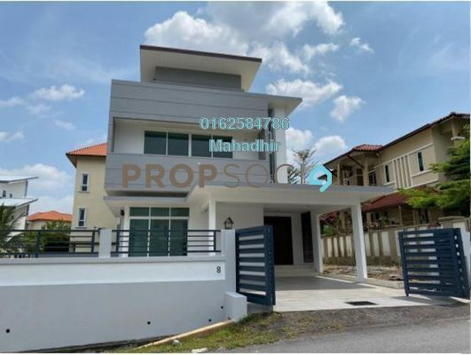 For Sale Bungalow at Section 6, Bandar Mahkota Cheras Freehold Unfurnished 7R/7B 2.5m