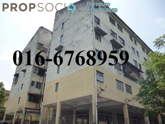 Apartment For Sale in Taman Sinaran, Balakong Freehold Unfurnished 3R/2B 135k