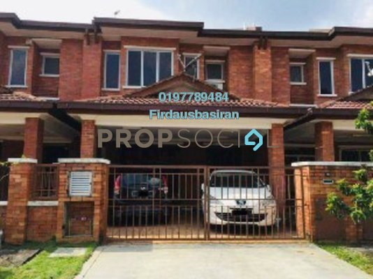 For Sale Terrace at Alam Idaman, Shah Alam Freehold Unfurnished 4R/3B 549k