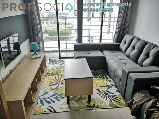 For Rent Condominium at D'Pulze Residence, Cyberjaya Freehold Fully Furnished 1R/1B 1.2k