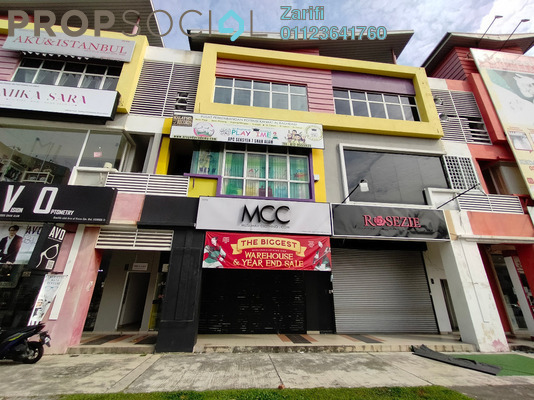 Office For Sale in Section 7, Shah Alam Freehold unfurnished 3R/3B 2.85m