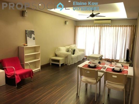 For Rent Condominium at Pelangi Utama, Bandar Utama Freehold Fully Furnished 3R/2B 2.5k