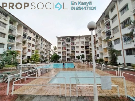 For Sale Condominium at Sri Sentosa Condominium, Kajang Freehold Unfurnished 4R/2B 320k