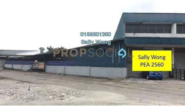 For Sale Factory at Taman Industri Subang, UEP Subang Jaya Freehold Unfurnished 0R/0B 1.88m