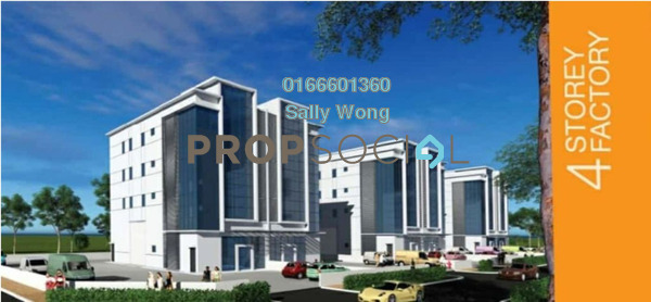For Sale Factory at Brencom Industrial Park, Kepong Leasehold Unfurnished 0R/0B 5.38m