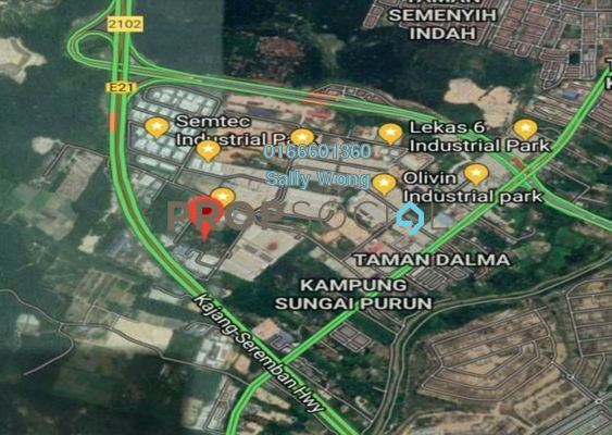 For Sale Land at Jalan Bangi Lama, Semenyih Freehold Unfurnished 0R/0B 6.1m