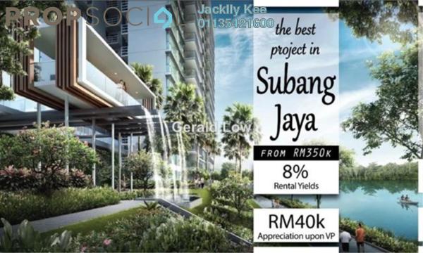 For Sale Condominium at Dorsett Place, Subang Jaya Freehold Fully Furnished 1R/1B 330k