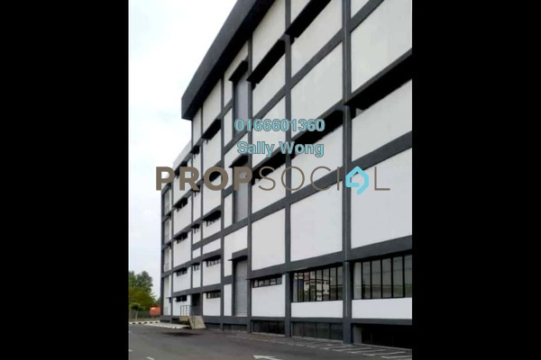 Factory For Rent in Perindustrian Tekno Jelutong, Bukit Jelutong Freehold Unfurnished 1R/2B 170k