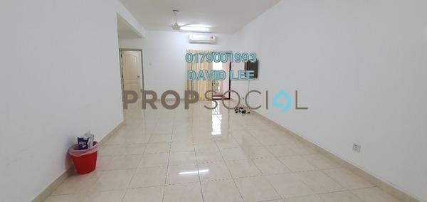For Rent Condominium at Pelangi Utama, Bandar Utama Freehold Semi Furnished 3R/2B 1.3k
