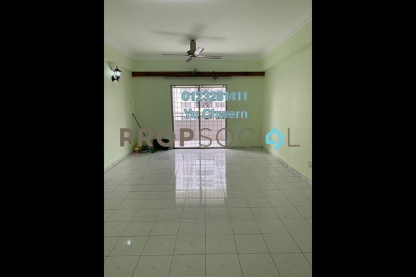 Condominium For Rent in Endah Ria, Sri Petaling Freehold Unfurnished 3R/2B 1.4k