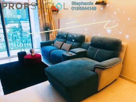 For Rent Condominium at 1A Stonor, KLCC Freehold Fully Furnished 2R/2B 3.9k