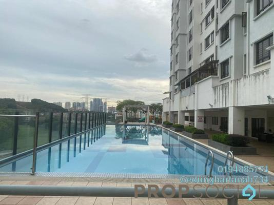Condominium For Sale in Pelangi Damansara Sentral, Mutiara Damansara Freehold Unfurnished 2R/2B 433k