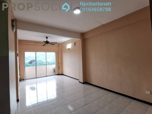 For Sale Apartment at Delima Intan Apartment, Juru Freehold Unfurnished 3R/2B 250k