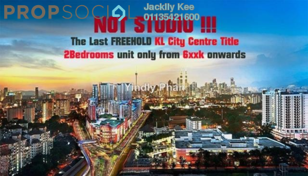 For Sale Condominium at Continew, Pudu Freehold Fully Furnished 2R/2B 1.1m