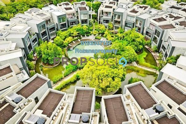 For Rent Condominium at Mirage By The Lake, Cyberjaya Freehold Fully Furnished 3R/3B 2.8k