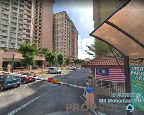 For Sale Condominium at Bintang Mas, Bandar Sri Permaisuri Freehold Semi Furnished 4R/2B 450k
