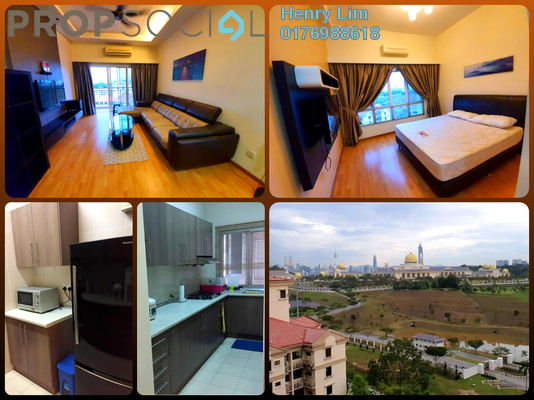 For Rent Serviced Residence at Waldorf Tower, Sri Hartamas Freehold Fully Furnished 2R/3B 2.5k