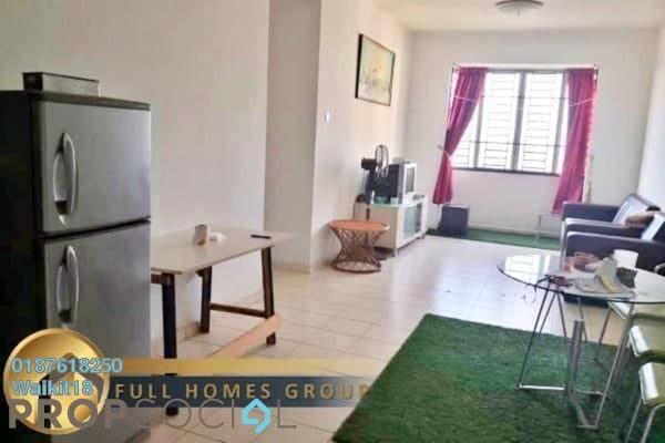 For Rent Condominium at Nusa Perdana Serviced Apartment, Iskandar Puteri (Nusajaya) Freehold Fully Furnished 3R/2B 1.2k