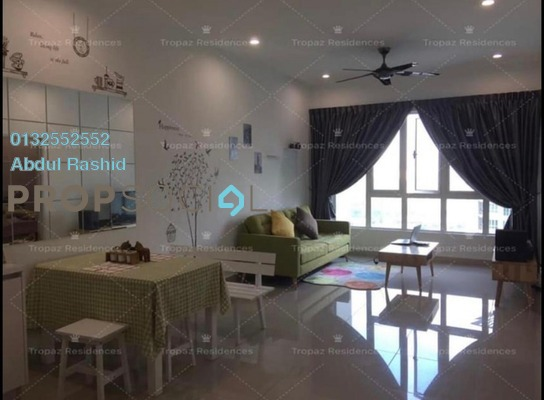 Condominium For Sale in Tropez Residences, Danga Bay Freehold Fully Furnished 2R/1B 415k