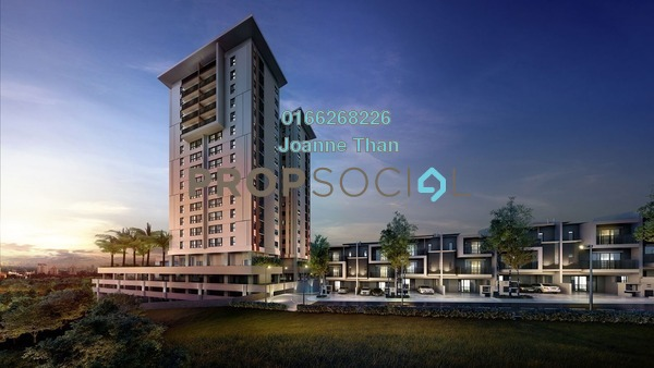For Sale Condominium at Andana @ D'Alpinia, Puchong Freehold Semi Furnished 3R/3B 750k