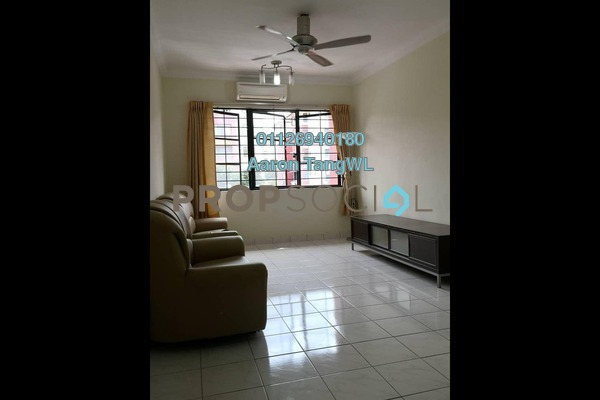 For Rent Apartment at SD Apartment II, Bandar Sri Damansara Freehold Semi Furnished 3R/2B 1.1k